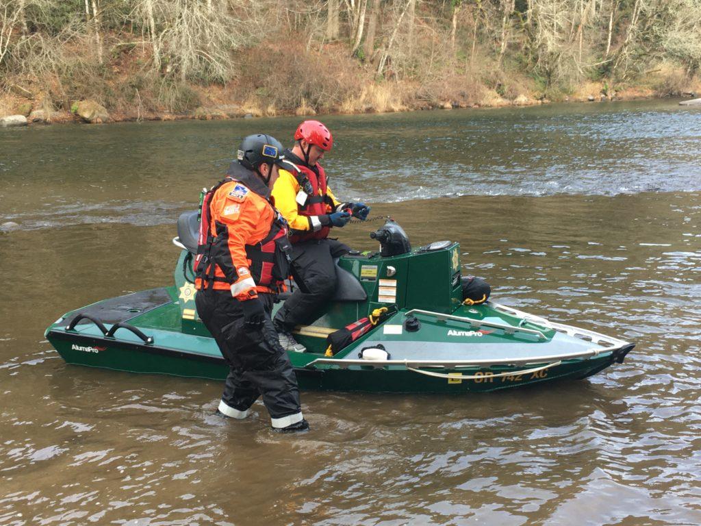AlumaPro Water Rescue Training